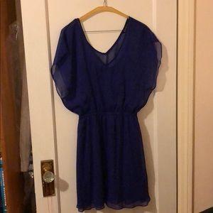 Express chiffon dress